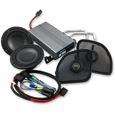 Wild Boar 400 Watt Amp Speaker Kit for 2015-2017 Harley Road Glide