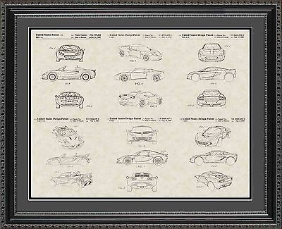 Patent Art Poster - Lotus - Car Auto Mechanic Racer Print Gift PLOTS2024