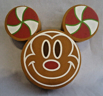 Disney Mickey Mouse Gingerbread Man? Double Sided Antenna Topper