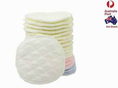 6 X Absorbent Reusable Nursing 6 Layers Breast Pads Breastfeeding Nursing 11cm