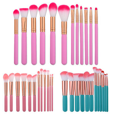 12PCS Makeup Brushes Set Foundation Powder Face Eyeliner Eyeshadow Lip Brush Kit