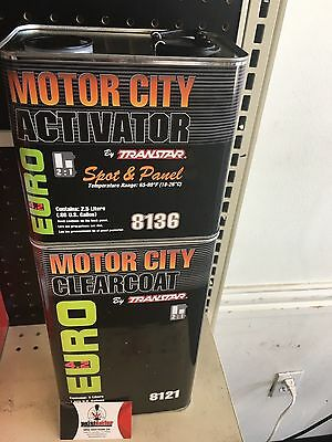 2:1 Euro Moror City Clearcoat Kit
