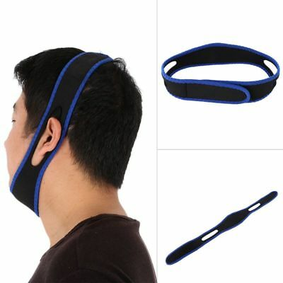 Anti Stop Snoring Belt Chin Support Band Cure Snore Help Sleep Straps Adjustable