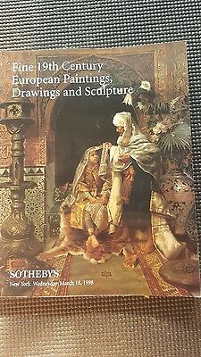Sotheby's Auction Catalog March 18th 1998 NY- European Paintings Sculptures