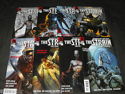 Strain Night Eternal Gullirmo Del Toro 1-8 Comic Run 1 2 3 4 5 6 7 8 Total