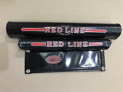 REDLINE PROLINE V-bar MX-2 VINYL Pad Set Ripper Oldschool Bmx REPOP Metallic