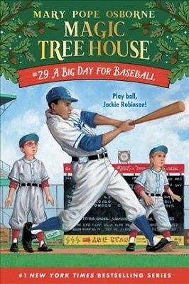 Big Day for Baseball, Hardcover by Osborne, Mary Pope; Murdocca, Sal (ILT); F...