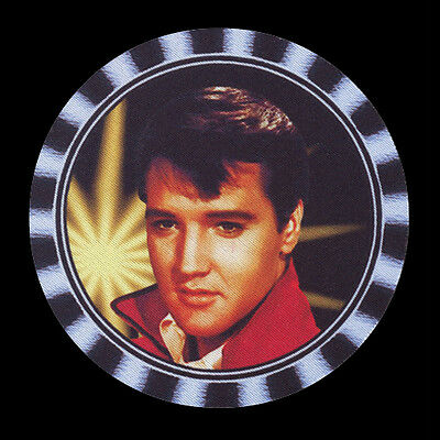 4  x ELVIS DRINK COASTERS, RE-USABLE, FULLY WASHABLE