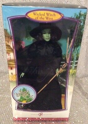 Wicked Witch Of The West Barbie Doll Wizard Of Oz Pink Label 2006 K8685 Nrfb