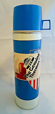 Vintage 1975 King Seeley Genuine Thermos 32 Ounce Patriotic Theme- New Old Stock