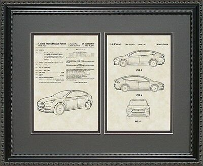 Patent Art - Tesla Automobile - Electric Auto Car Mechanic Print Gift S3268