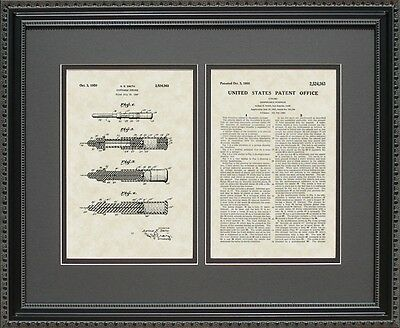 Patent Art - Disposable Syringe - Nurse Doctor Physician Print Gift S4363