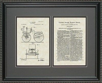 Patent Art - First Automobile - Selden Auto Mechanic Print Gift S9160