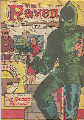 The Raven No7 (1957) Australian Comic -Fine-