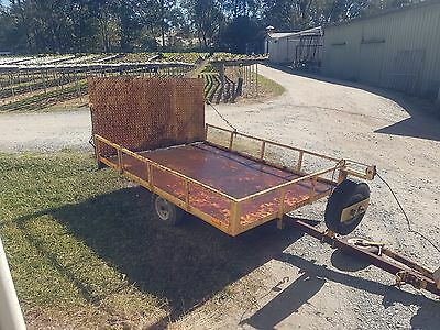 Golf buggy or ride on mower trailer