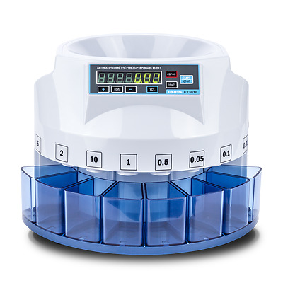 Australian Coin Counter Money Sorter Automatic Cash Counting Sorting Machine