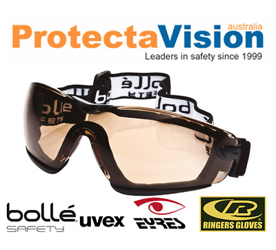 Bolle COBRA STRAP Twilight Cycling Safety Glasses - Elastic Strap
