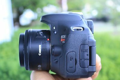 EXCELLENT Canon Rebel T3i 18.0 MP SLR Camera With EF-S 50mm II 1.8 Lens