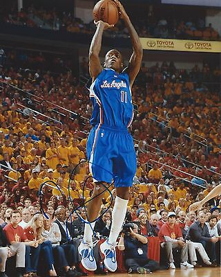 Jamal Crawford Signed 8x10 Photo Los Angeles Clippers Autographed COA