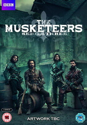 """001 The Musketeers - Season1 2 3 4 Fight Hot TV Shows 14""""x19"""" Poster"""