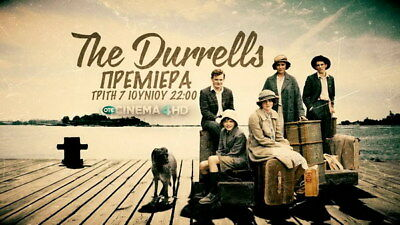 """007 The Durrells - Keeley Hawes Family UK TV Show 24""""x14"""" Poster"""