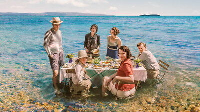 """010 The Durrells - Keeley Hawes Family UK TV Show 24""""x14"""" Poster"""