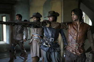 """008 The Musketeers - Season1 2 3 4 Fight Hot TV Shows 21""""x14"""" Poster"""