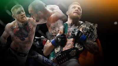 "001 Conor McGregor - UFC MMA Champion Fighter 24""x14"" Poster"