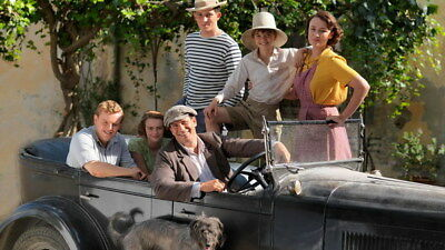 """009 The Durrells - Keeley Hawes Family UK TV Show 24""""x14"""" Poster"""