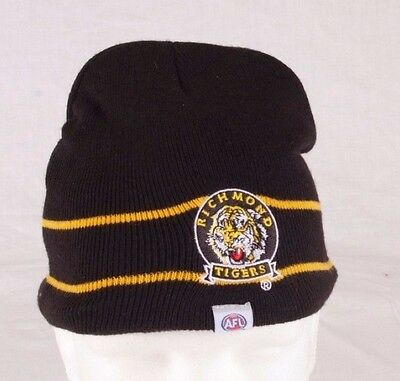 Official AFL Richmond Tigers Beanie
