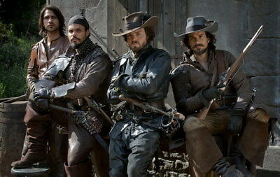 """009 The Musketeers - Season1 2 3 4 Fight Hot TV Shows 37""""x24"""" Poster"""