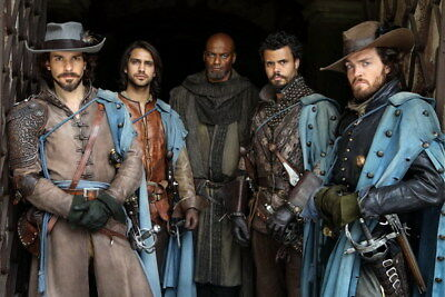 """015 The Musketeers - Season1 2 3 4 Fight Hot TV Shows 36""""x24"""" Poster"""
