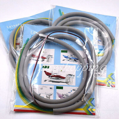 Dental Silicone Tube Hose For Air Turbine Motor Handpiece Connector 2/4/6 Holes
