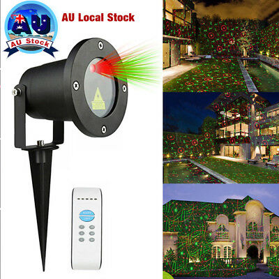 Christmas LED Projector Laser Light Outdoor Patterns Star Party Garden Landscape