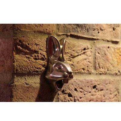 Creative Stainless Iron Rabbit Wall Mount Bar Beer Glass Bottle Cap Opener Screw