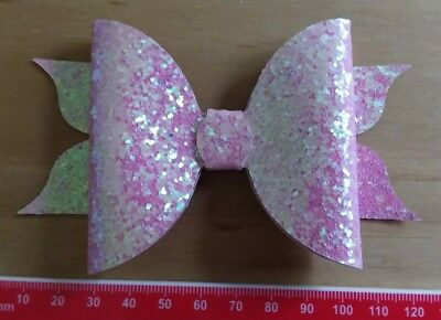 Flutter-Bows 4 Sizes - Plastic Bow Template 12 Pieces - Hair Bow making