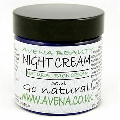 Natural Ingredients Night Face Cream 60ml Definitive Evening Moisturiser