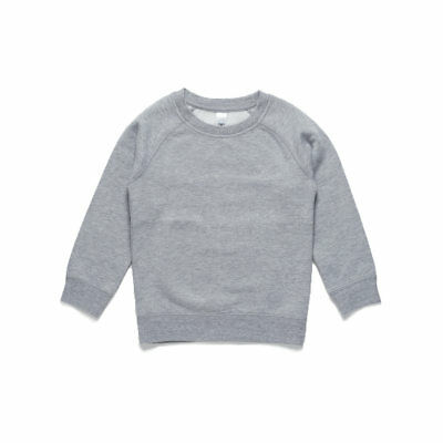 AS Colour Youth Crew - Grey Marle (Size 8)