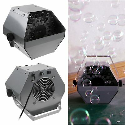 Bubble Effect Machine Automatic Blowing Maker for Kids Garden Disco Party
