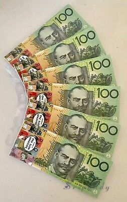 6X Souvenir Play Money $100 $50 $20$10$5 dollar Note Shopping List 50 Pages/Each