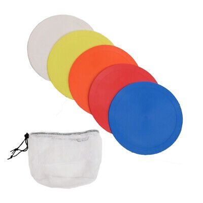 Set of 10 Flat Disc Markers - Small (15cms Diameter)