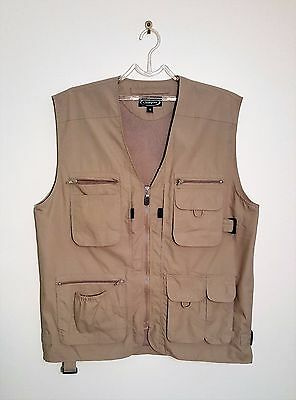 Champion Hunting Fishing Shooting Outdoor Vest Multi-Pockets Size M