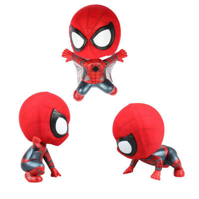 Spider Man Pendant Squatting Climbing Flying Shaking Head Style Home Furnishings