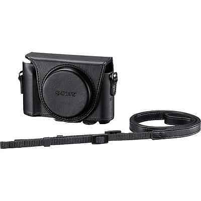 New Sony Lcjhwa Jacket Case For Cyber Shot ( Black ) For Dschx90/wx500