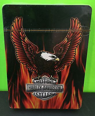 Harley Davidson Flaming Eagle And Logo NIP Deck Of Playing Cards Collectable