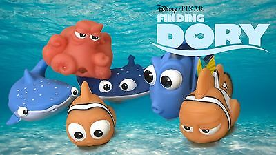 Finding Dory / Nemo Bath Squirter Toys Figures for Bath / Shower Toys