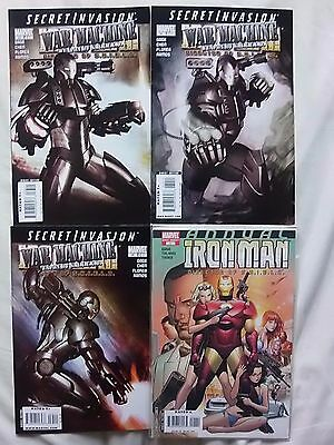 IRON MAN/WAR MACHINE 33-35 + ANNUAL comics MARVEL series RUN