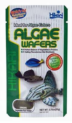Hikari Algae Wafers Aquarium Pleco 20g 40g 82g 250g 1Kg Fish Food