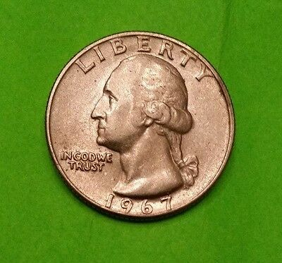 1967  USA  Quarter Dollar ~ Lightly Circulated ~Collectable