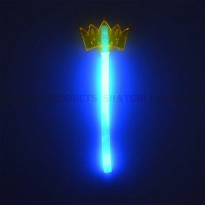 Halloween Glow Crown Trident Assorted Colour for Kids Fancy Dress Accessories